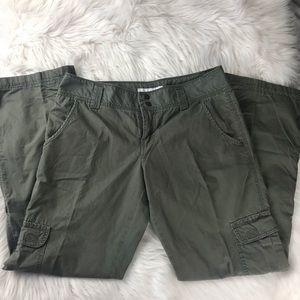 Sanctuary Surplus Cargo Olive Pants In Size 28